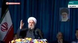 روحانی در سمنان: اگر آمریکا جلوی فروش نفت ایران را بگیرد، نفتی از خلیج فارس صادر