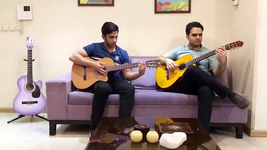 بداههنوازی در میمینور فرزین نیازخانی مدرس گیتار