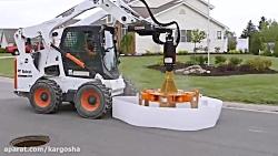 ماشینالات نوین برای تعمیرات جاده