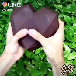 کیـــــک شکلاتے خوشمزه...