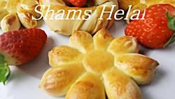 آموزش پخت کلچه پنیری خوشمزه خانگی  Kolchi Paniri