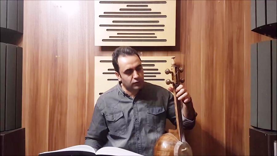فیلم آموزش بداههنوازی تقویت انگشتان کمانچه تکنیکها ایمان ملکی