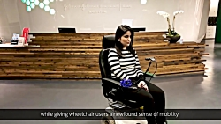 کنترل صندلی چرخ دار با حرکات صورت به کمک هوش مصنوعی