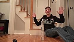 Water Bottle Flip Trick Shots 4   That's Amazing