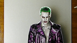The Joker Suicide Squad Drawing - 3D Art