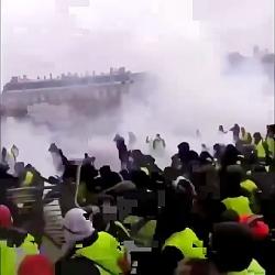 درگیرهای امروز پاریس. و...
