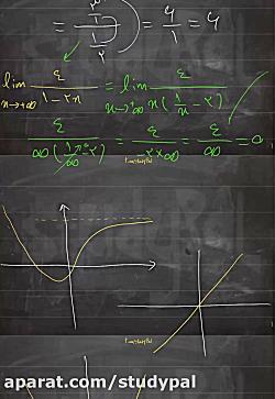 ویدیو حل مثال از حد در بی نهایت ریاضی دوازدهم