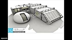 طراحی معماری مجموعه ور...