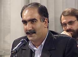 شعر خوانی مرحوم ابوالفضل زرویی نصر آباد در محضر رهبر انقلاب