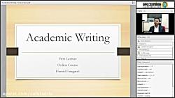 جلسه اول کلاس آکادمیک رایتینگ - Academic Writting