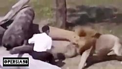 حمله حیوانات به انسان ه...