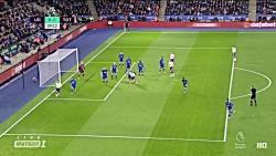 خلاصه بازی لستر سیتی - تاتنهام - لیگ برتر انگلیس