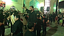 طبل زنی محرم مسجد محمدر...