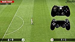 آموزش تکنیک در بازی PES201...
