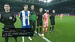 بارسلونا 4 اسپانیول 0 - د...
