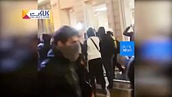 غارت یکی از فروشگاه اپل در حاشیه اعتراض های فرانسه