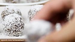 طرز تهیه شکلات برفی