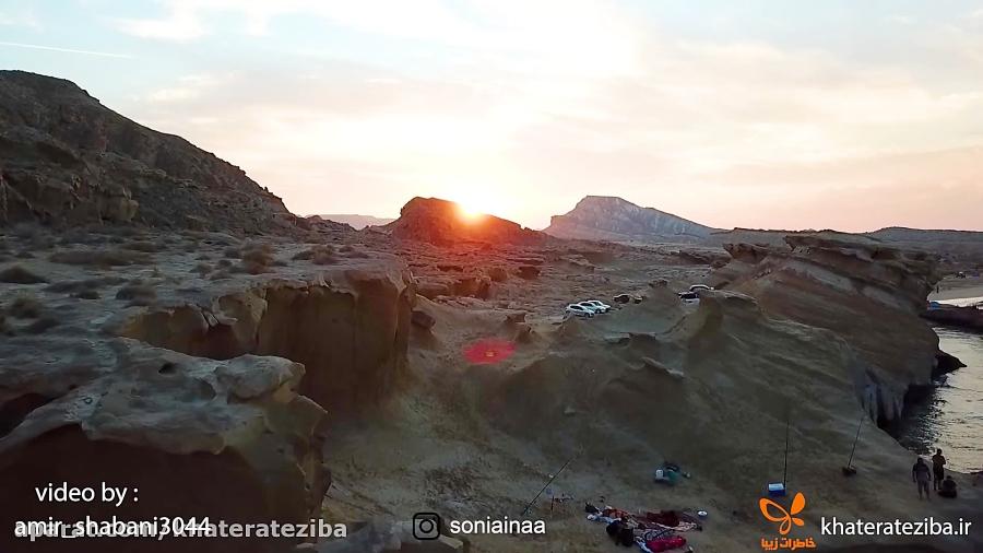 ساحل روستای بنود و زیباییهای خلیج فارس
