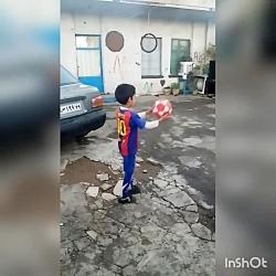 فوتبال_چالش انداختن تو...