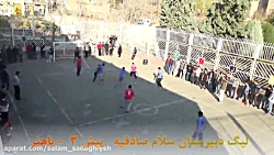 لیگ فوتبال هفته نهم تیم...