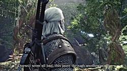 تریلر معرفی شخصیت The Witcher 3: Wild Hunt در بازی Monster Hunter World