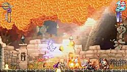 گیم پلی بازی Battle Princess Mad...