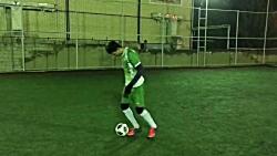 تکنیک حرفه ای فوتبال