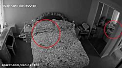 دیده شدن جن و شبح واقعی توسط دوربین های مداربسته۱۶+