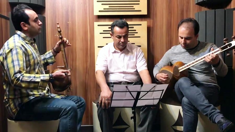 فیلم بداههنوازی و بداههخوانی آواز ابوعطا میکرن تصنیف عاشق مجنون شاهپور کوهکلانی کمانچه ایمان ملکی تار نیما فریدونی