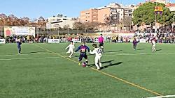 خلاصه الکلاسیکو زیر 10 سال : بارسلونا 6-1 رئال مادرید