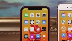 مقایسه گوشی آیفون xr طرح با آیفون 8پلاس طرح اصلی