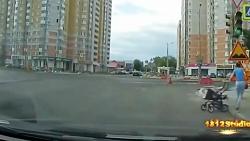 حوادث خطرناک در خیابان