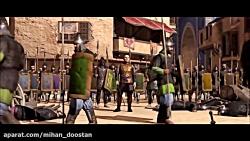 میان پرده زیبای پیروزی ساسانیان بر امپراطوری روم