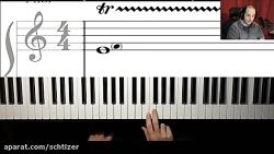 اموزش تکنیک تریل پیانو ...
