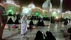 شبی در مسجد جمکران (یاد...