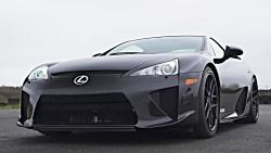 درگ لکسوس Lexus LFA و لکسوس Lexus LC500
