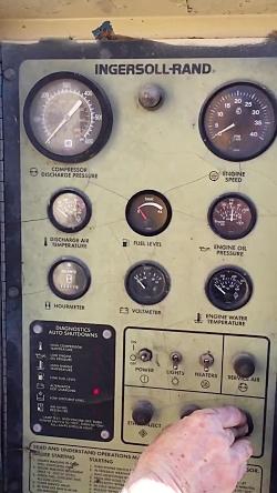 استارت كمپرسور هوا در هوای زمستانی