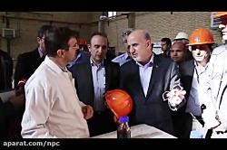 بازدید مهندس محمدی از ط...
