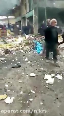 انفجار خودروی بمب گذار...