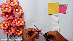 آموزش ساخت گل با کاغذ شماره 34