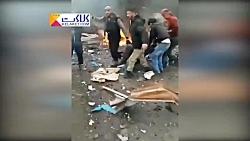 اولین تصاویر از انفجار ...