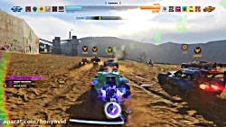 گیم پلی Onrush در Ps4 Pro