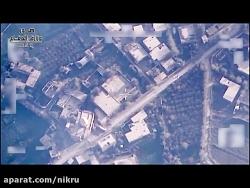 حمله جنگنده های عراق به مواضع تروریست های داعش در استان دیرالزور سوریه