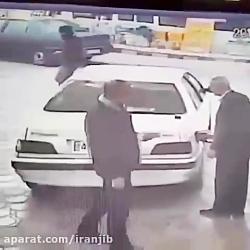 سرقت اتومبیل در روز روش...