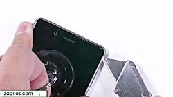 آموزش تعویض تاچ ال سی دی و تعویض باتری موبایل Nokia 8 - زاگریوس
