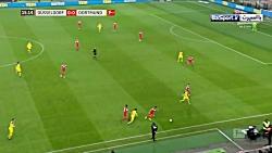خلاصه بازی دوسلدورف 2-1 ...