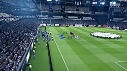 گیم پلی فینال لیگ قهرمانان اروپا-یونتوس و پاری سن ژرمن