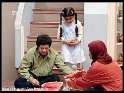 سکانس خنده دار طنز هندونه خوردن علی صادقی