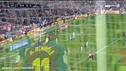 خلاصه بازی بارسلونا 2 - 0...