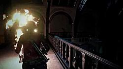 گیم پلی جدید از Resident Evil Remake 2